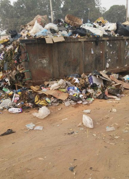 Overflowing Skip at Osisioma