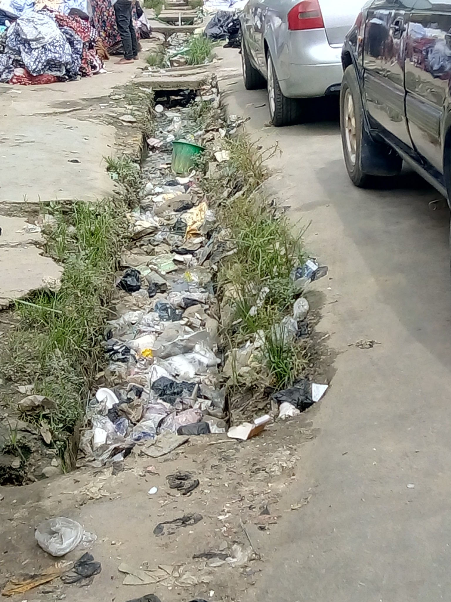 Typical Drainage in Aba
